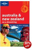 Australia & New Zealand on a shoestring - Lonely Planet