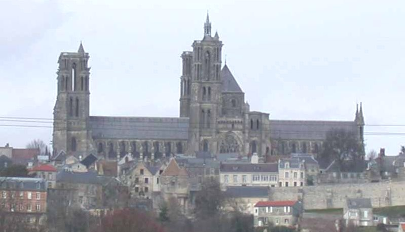 The cathedral of Notre-Dame of Laon in France