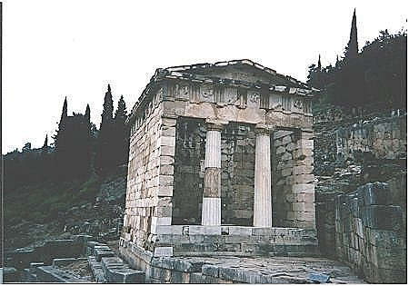 Photo Gallery of Delphi and Mount Parnassus in mainland Greece