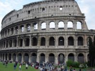 The Colosseum in Rome - capital city of Italy