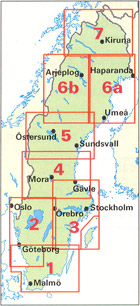 Scandinavia Index Map